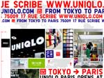 UNIQLO FROM TOKYO TO PARIS